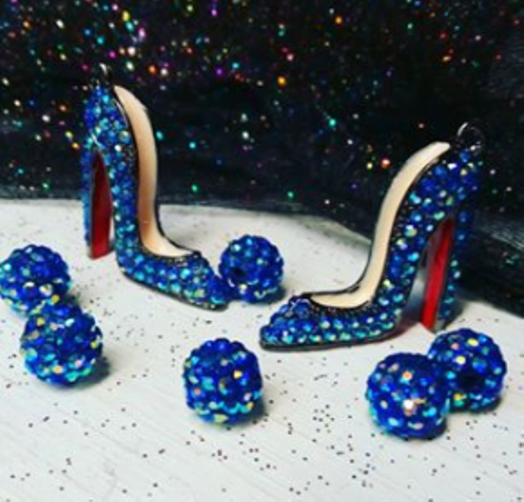 Crystal Couture High Heel Charms