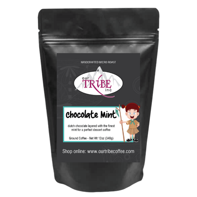 Chocolate Mint - Chocolate and Mint Flavored Coffee