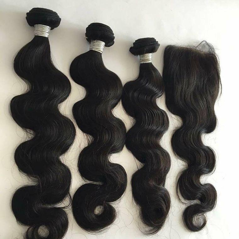 100% Human Hair Brazilian Body Wave