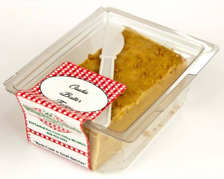 Cookie Butter Crunch Fudge