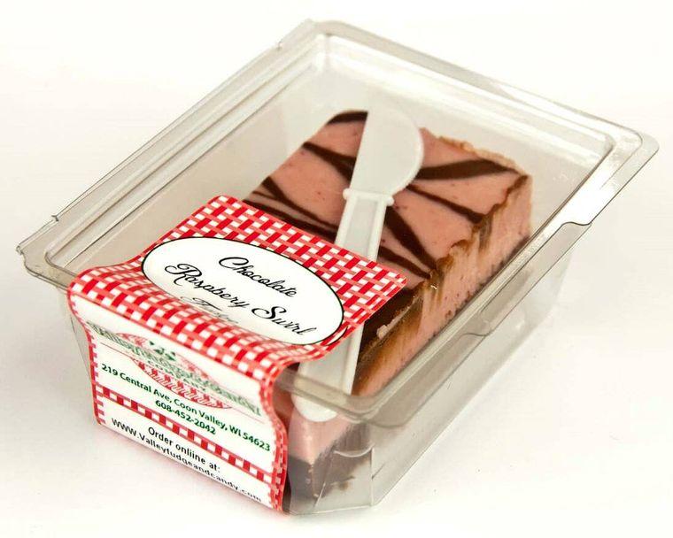 Raspberry Chocolate Fudge