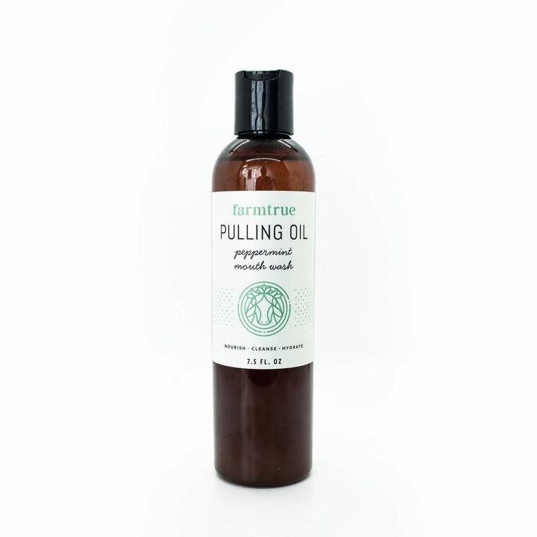 8oz Pulling Oil (Peppermint Mouthwash)