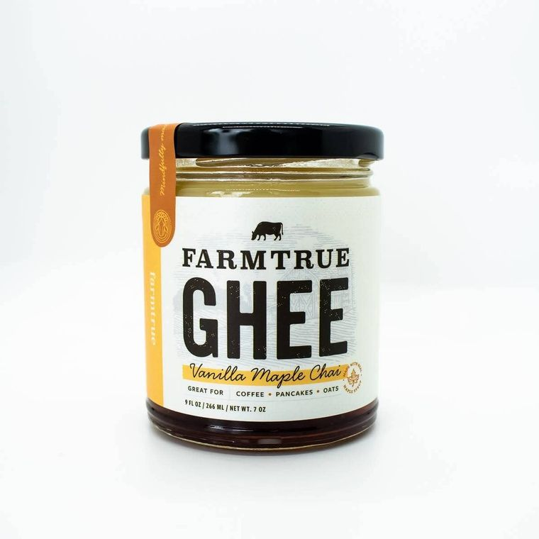 9oz Vanilla Maple Chai Ghee