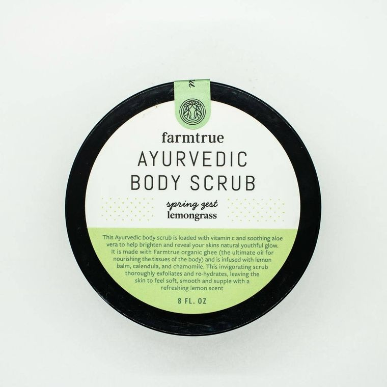 8oz Lemongrass Spring Zest Body Scrub