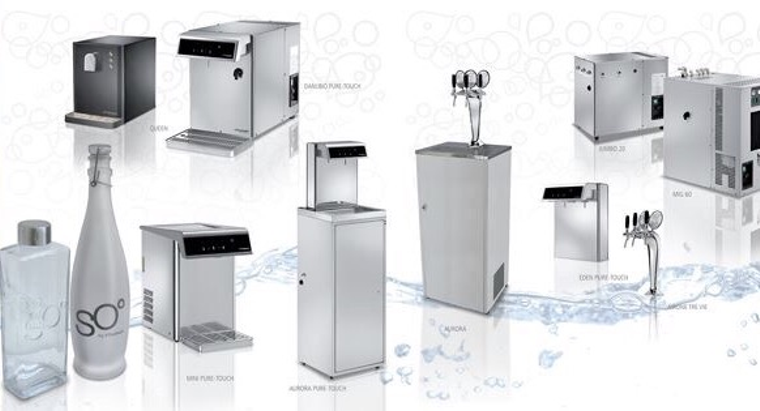 Commercial Alkaline Sparkling Water Systems