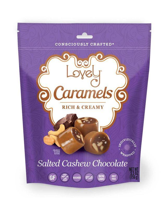 Salted Cashew Chocolate Caramel