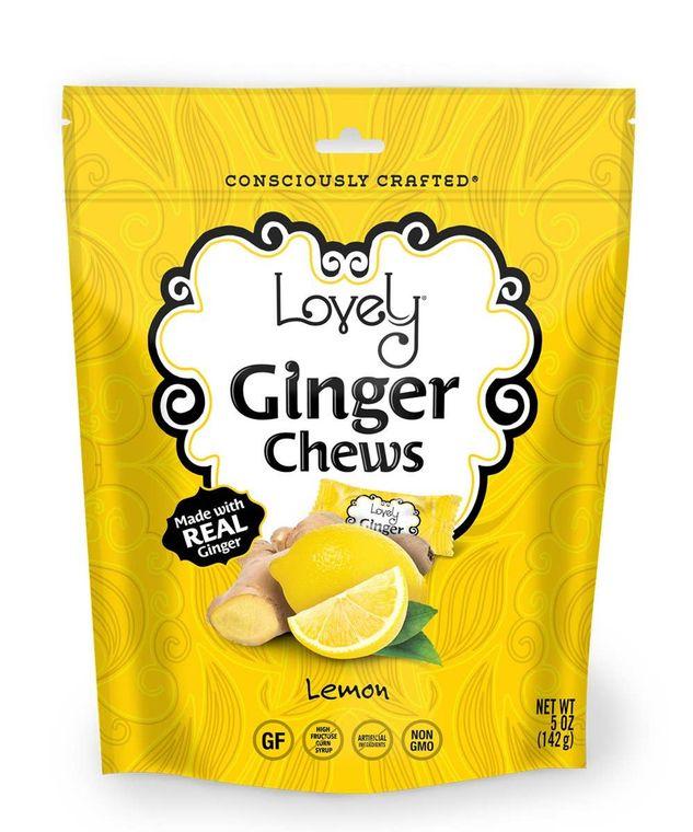 Lemon Ginger Chews