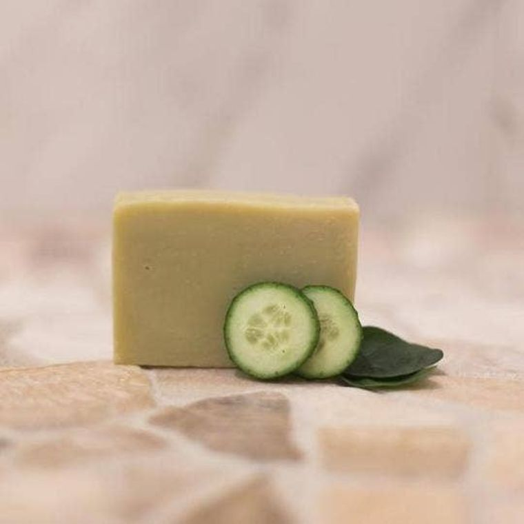 Cucumber + Spearmint Soap