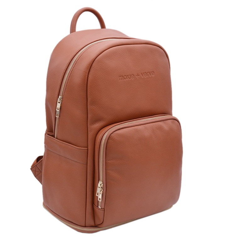 Francisco Leather Backpack
