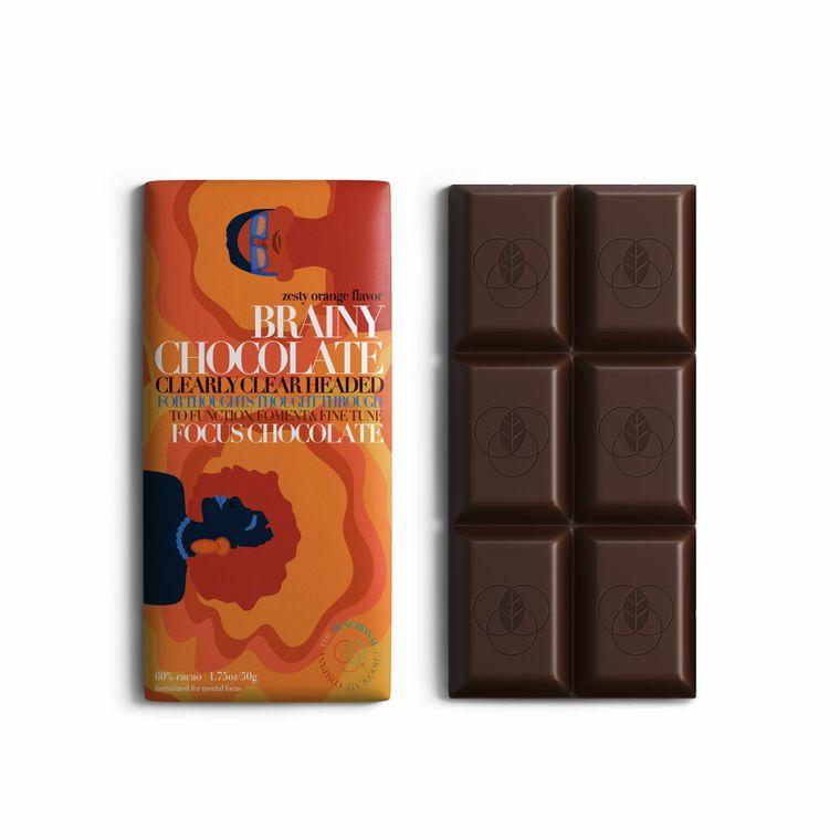 Brainy Chocolate - Focus Formula - Zesty Orange