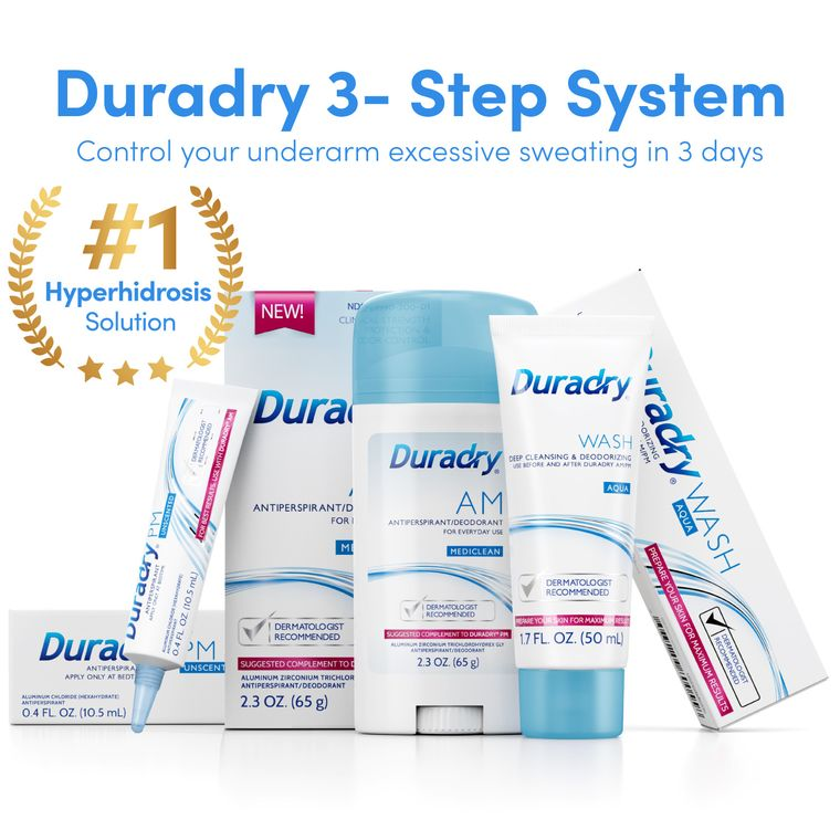 Duradry 3-Step System