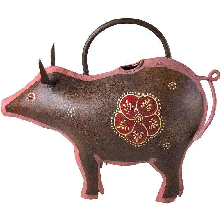 Dark Pig Iron Watering Can