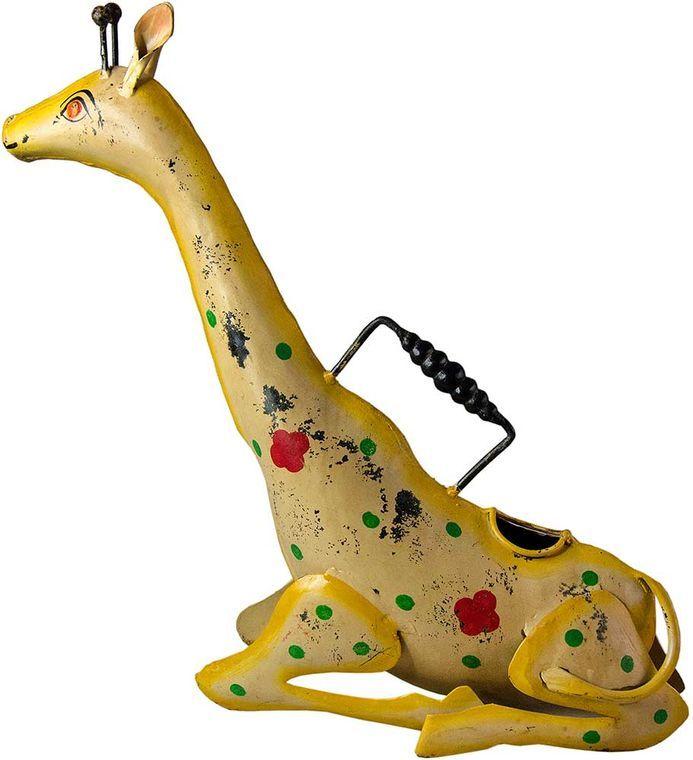 Giraffe Iron Watering Can