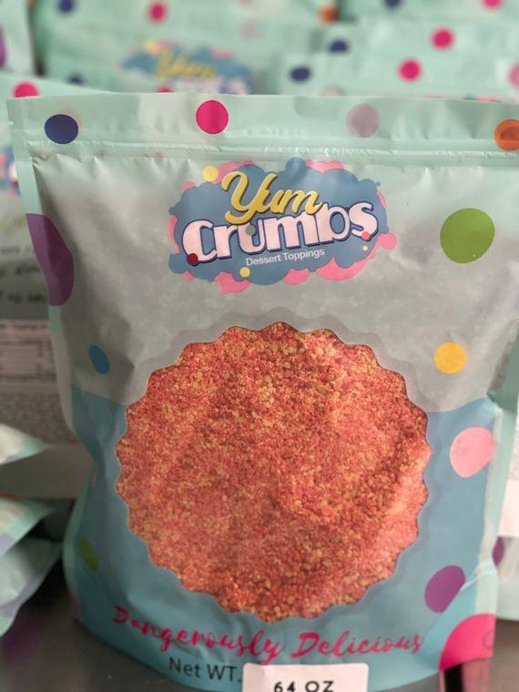 4lb bag of Yum Crumbs