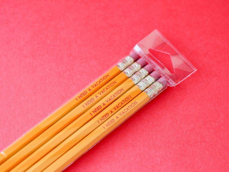 I Need a Vacation Pencil
