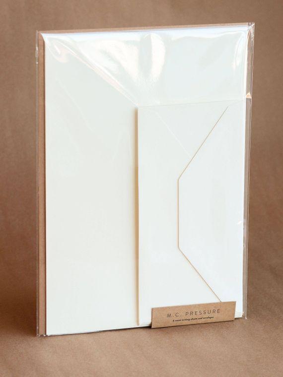 Flat Fine Italian Writing Sheet Stationery Set