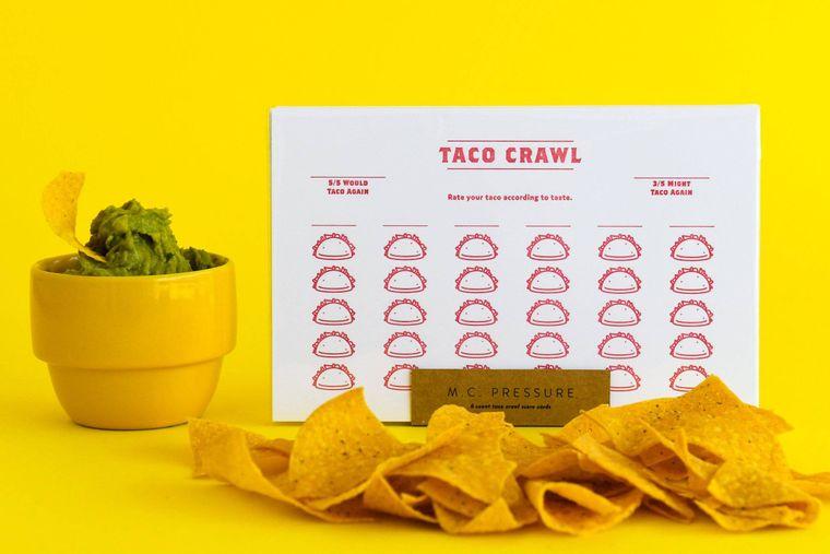 Taco Crawl Score Card