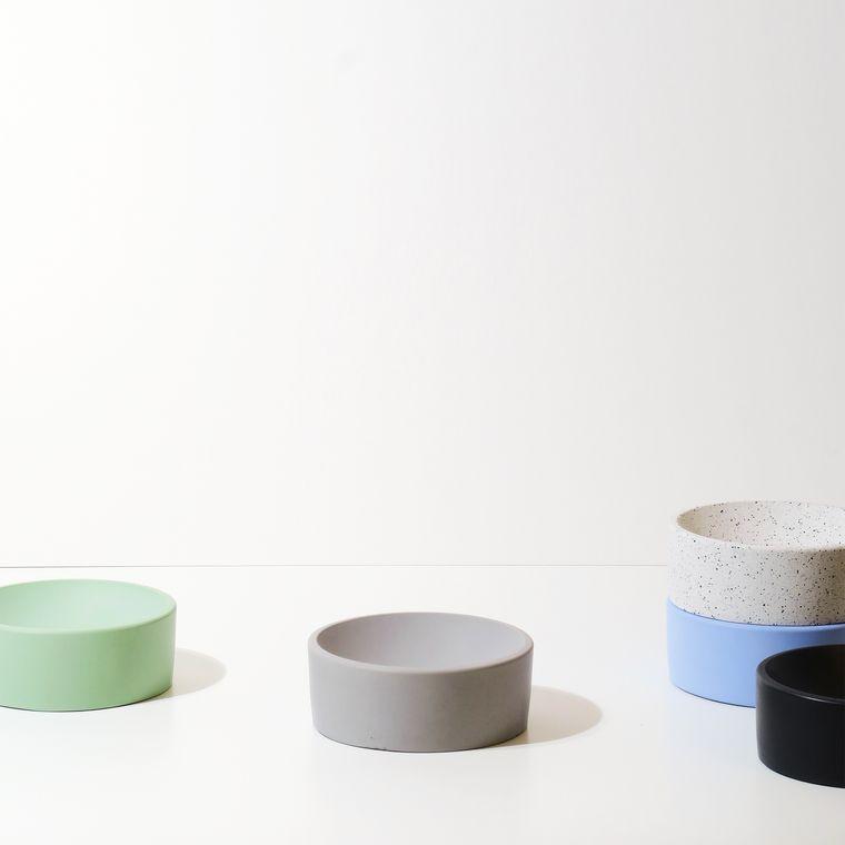 Concrete Jewellery Bowl - Trinket Bowl Dish - Rund