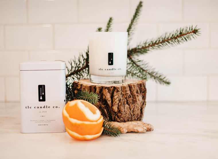 By The Fire - Pine Candles