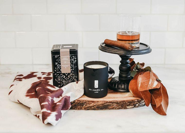Cowhide - Masculine Scented Candle