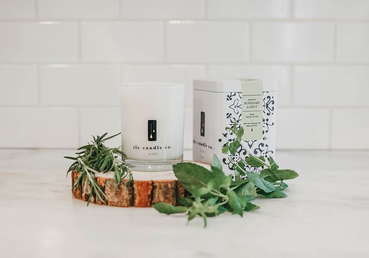 Rosemary & Mint - Rosemary and Mint Candle