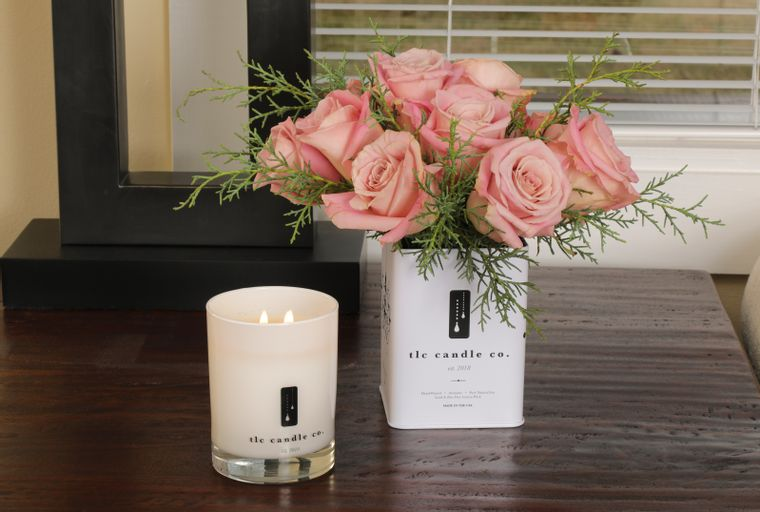 Roses - Rose Candle