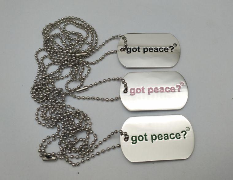 got peace? Necklace