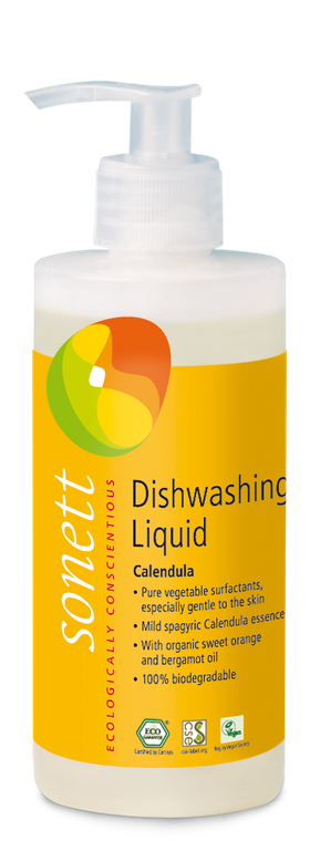 Sonett Eco Dishwashing Liquid Calendula 10 fl oz./ 300 ml