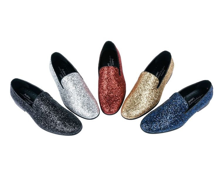 Mens slip on Sparlke Shoes by Frederico Leone, Ltd