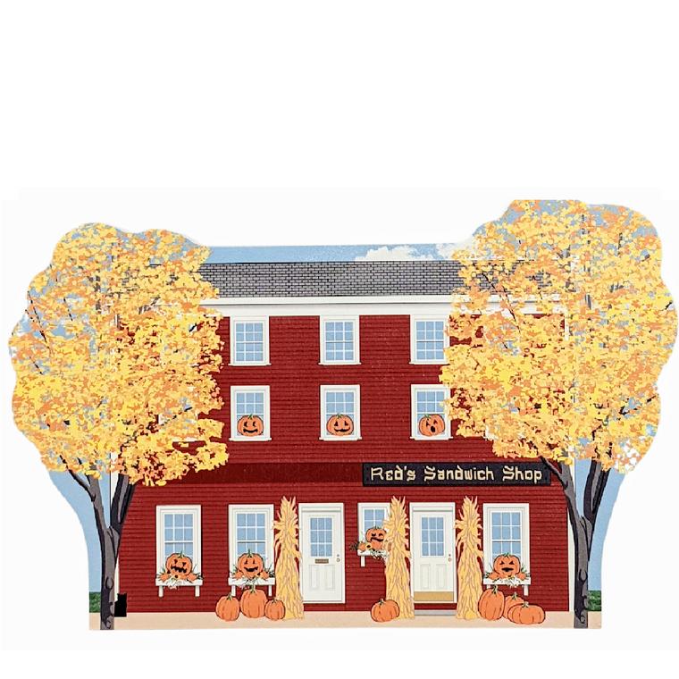 Autumn In Salem, Red's Sandwich Shop
