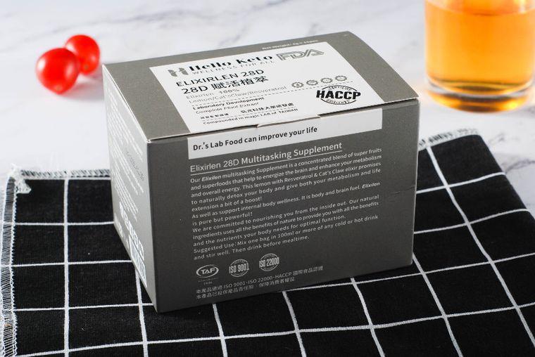 KetoLogic BHB Elixirlen 28D Keto Supplement