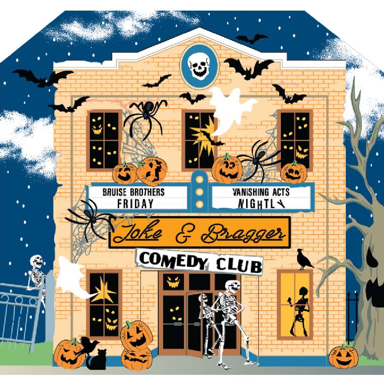 Halloween, Joke & Bragger Comedy Club