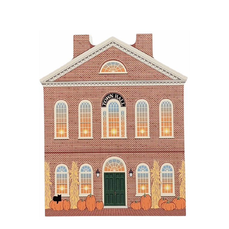 Autumn In Salem, Old Town Hall