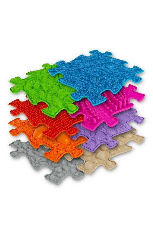 Orthopaedic Play Floor Puzzle MAT- Set of 8 Tiles (3D)