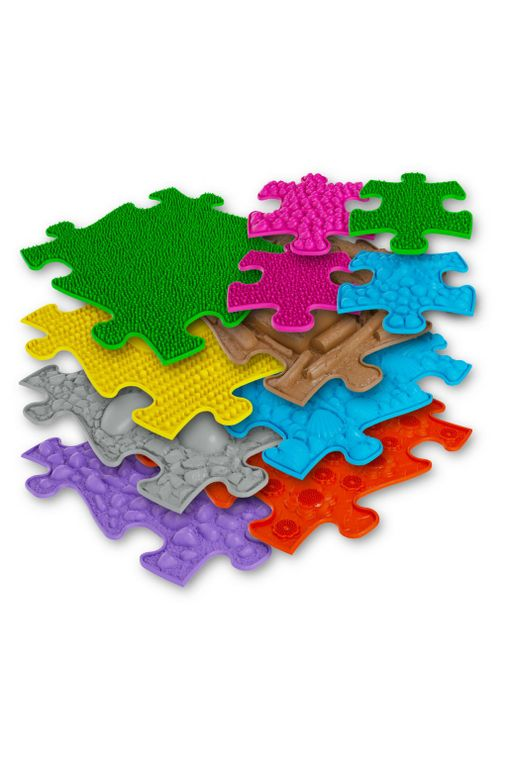 Orthopaedic Play Floor Puzzle MAT- Set of 11 Tiles (3D)