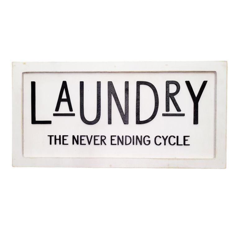 Laundry - the never ending cycle