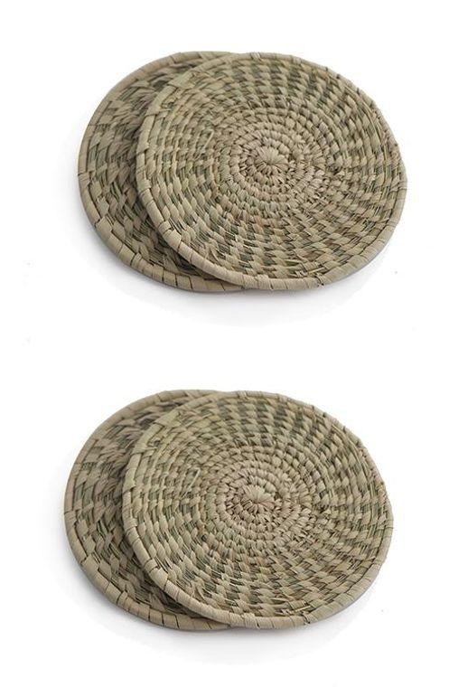 Sabai Grass Coasters (Set of 4)