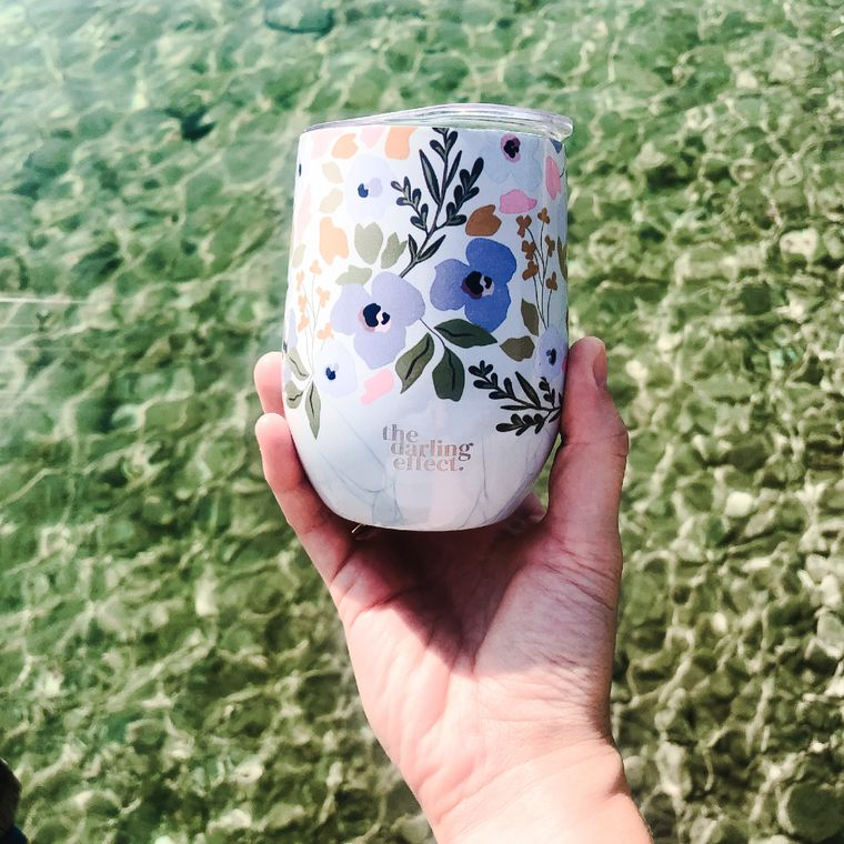Wine Tumbler - All Day Dainty