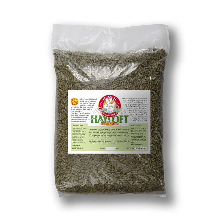 Timothy Choice Guinea Pig Pelleted Feed