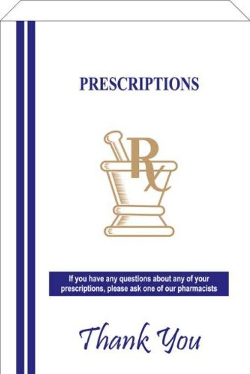Pharmacy Paper Bags