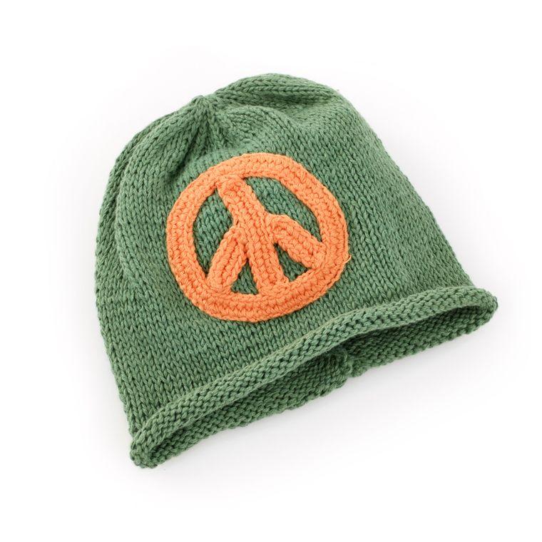 Peace Hat Khaki 0-6M