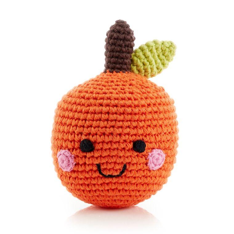 Friendly Fruit Rattle Orange