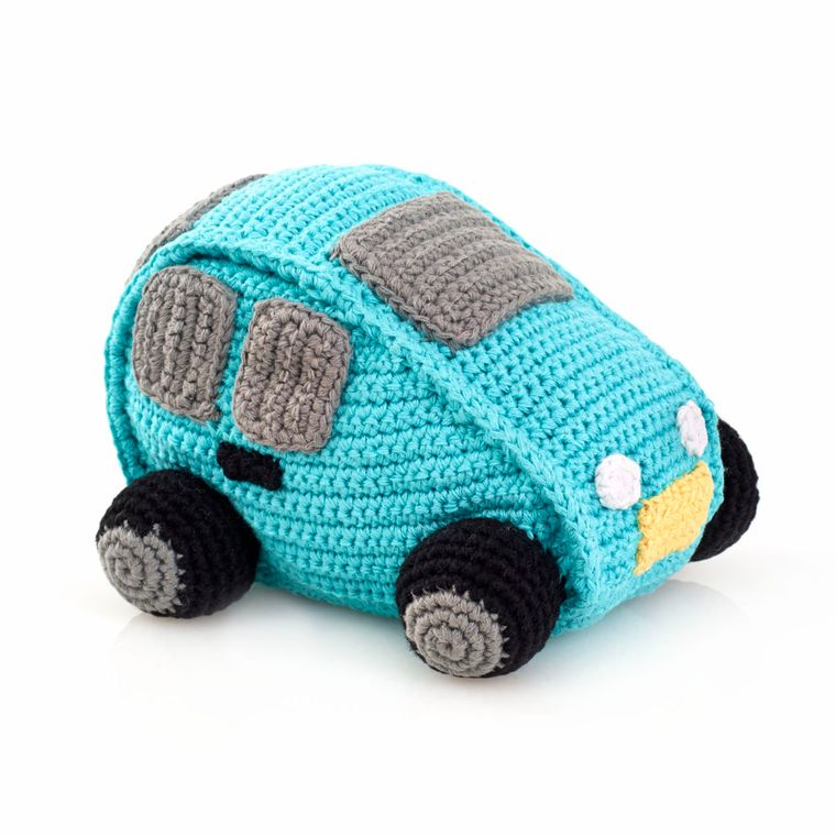Car Rattle Turquoise