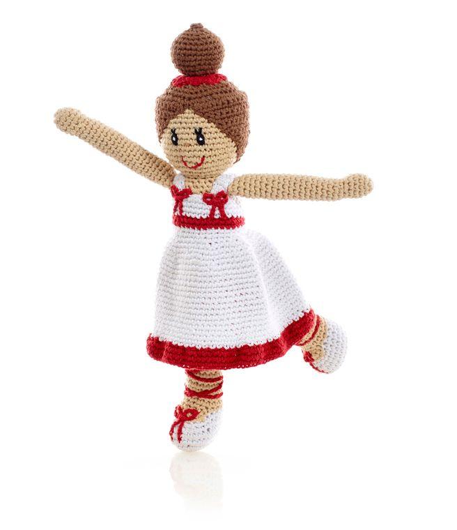 Storytime Ballerina - White