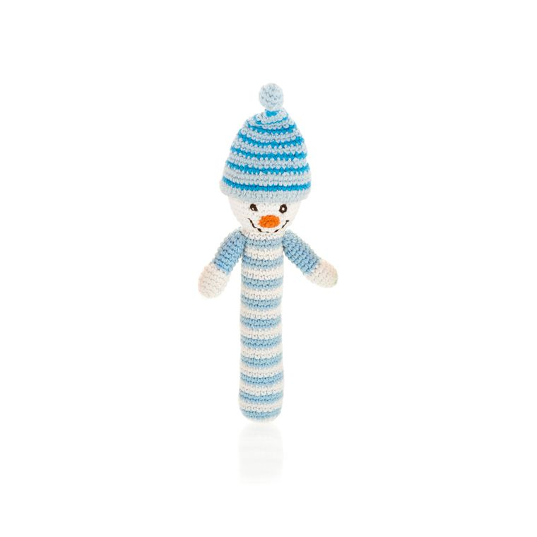Stick Rattle - Snowman