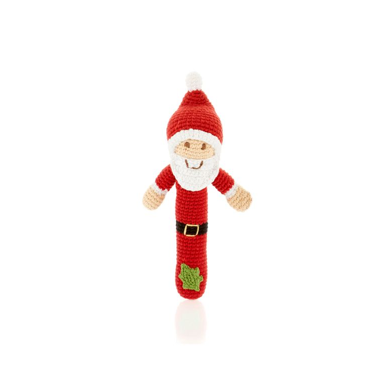 Stick Rattle - Santa