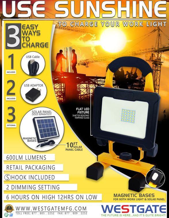 Solar Portable LED Light