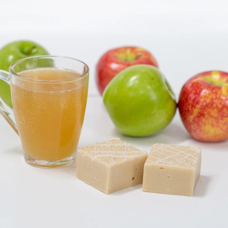 Sparkling Apple Cider Fudge (1/2 lb Package)