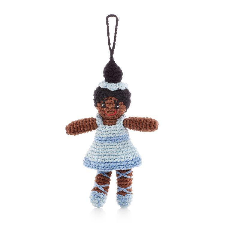 Ballerina Ornament Blue