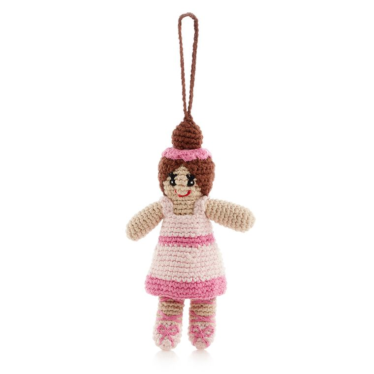 Ballerina Ornament Pink